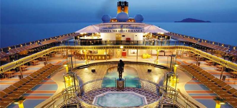 Costa Mediterranea 11 Notti Partenza Napoli 25 Gennaio Cabina Esterna Cat. Premium