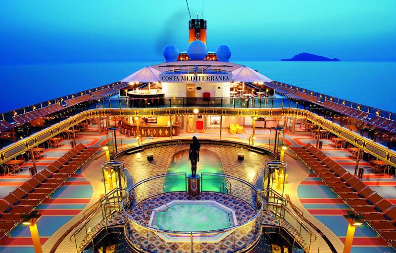 Costa Mediterranea Partenza da Bari 28 Novembre 4 Notti - Cabina Balcone Premium