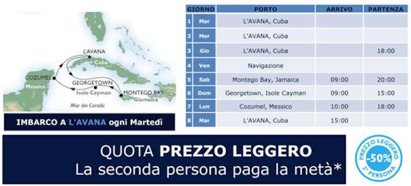¡QUE VIVA CUBA! Nuova Destinazione MSC Crociere 7 Notti