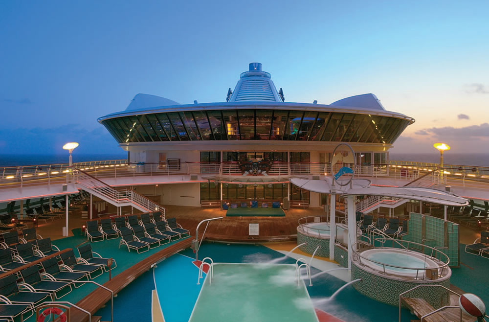 Crociera Estate 2018 Jewel of The Seas 7 Notti Partenza 12 Agosto Camera TPL/QPL