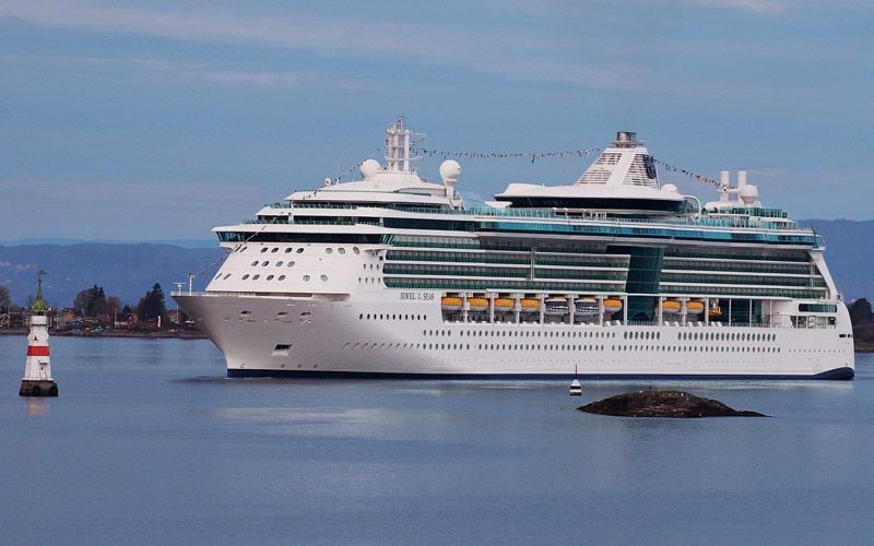 JEWEL OF THE SEAS DA CIVITAVECCHIA 7 NOTTI PARTENZA 6 AGOSTO CABINA ESTERNA DBL