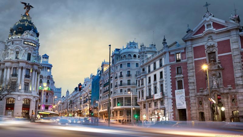 Capodanno a Madrid 3 Notti Partenza 30 Dicembre Volo da Roma Hotel NH Ribera - Madrid