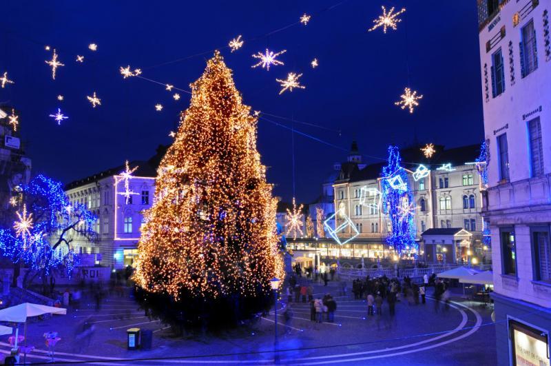 Gita in Bus Mercatini di Natale Slovenia 5 Giorni Partenza 7 Dicembre