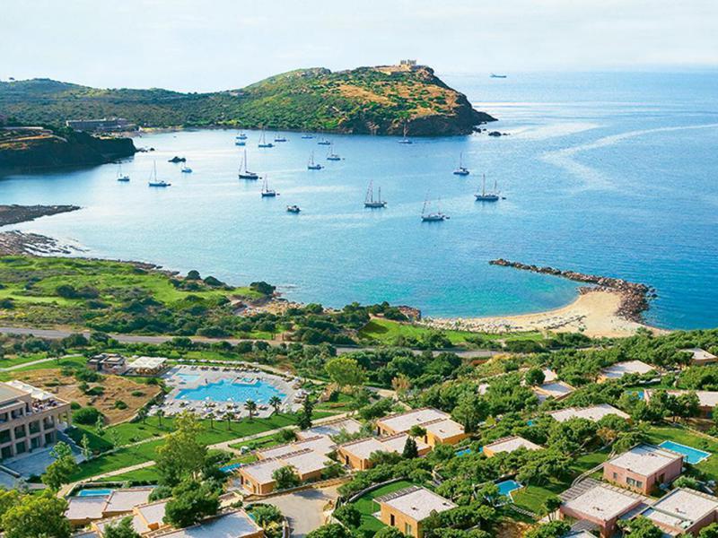 Grecotel Exclusive Resort Sounio Deluxe Bungalow Seaview Partenze Agosto