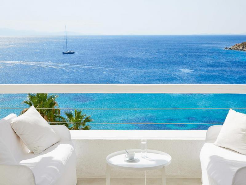 Mykonos Blu 4 Notti Island Bungalow Side Sea View Partenze Luglio