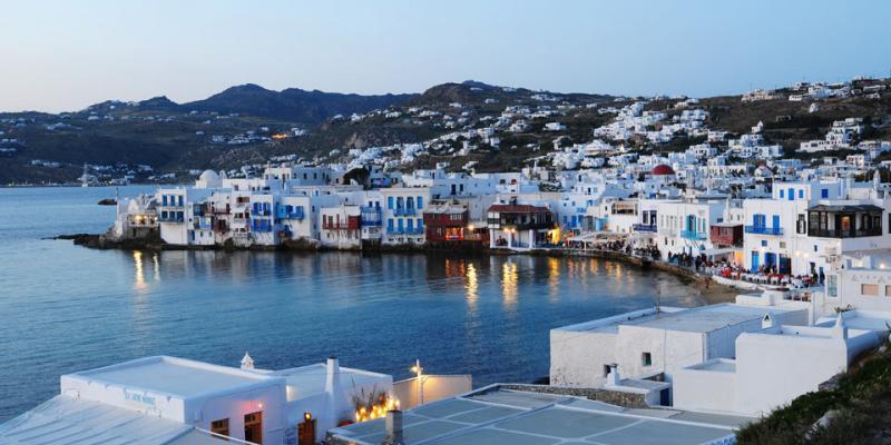 SOLO VOLO Grecia Mykonos Partenza 13 Agosto