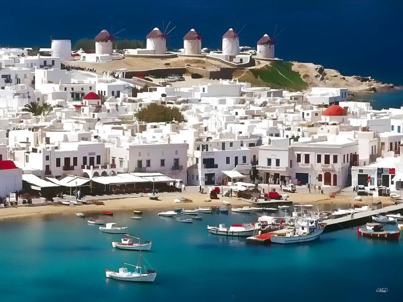 SOLO VOLO Grecia Mykonos Partenza 27 Agosto