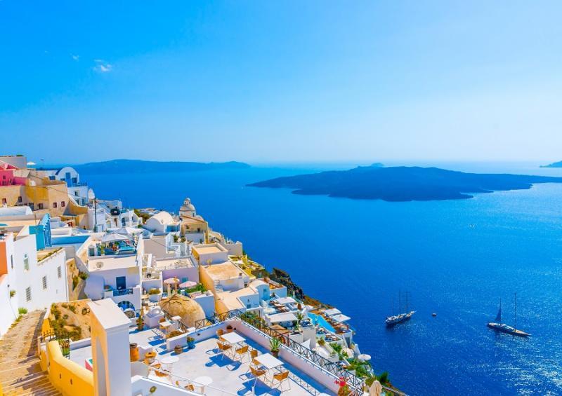 SOLO VOLO Grecia Santorini Partenza 13 Agosto