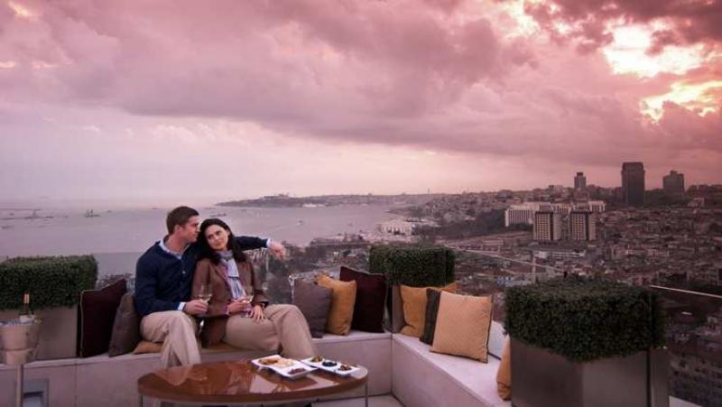 Ponte 1 Maggio a Istanbul - Hotel Conrad - Istanbul