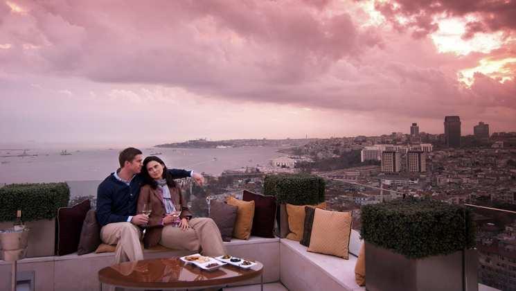 Ponte 1 Maggio a Istanbul - Hotel Conrad*****
